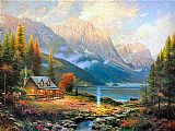 The Beginning of a Perfect Day by Thomas Kinkade